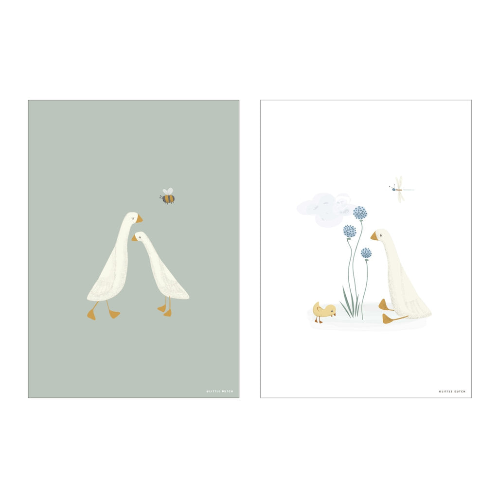 LITTLE DUTCH POSTER LITTLE GOOSE - Sausebrause Shop