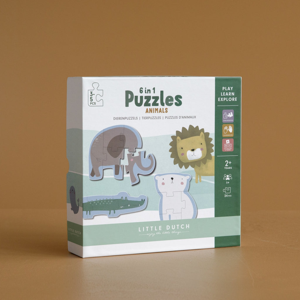 LITTLE DUTCH PUZZLE ZOOTIERE - Sausebrause Shop