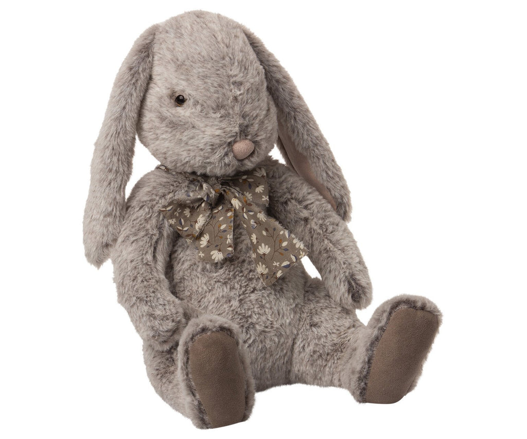 MAILEG PLÜSCHHASE FLUFFY BUNNY X-LARGE GRAU - Sausebrause Shop
