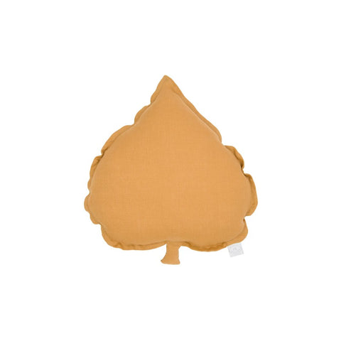 PILLOW LINDEN LEAF CARAMEL