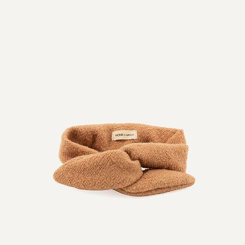 MONK & ANNA HAARBAND WOOL CASHEW - Sausebrause Shop