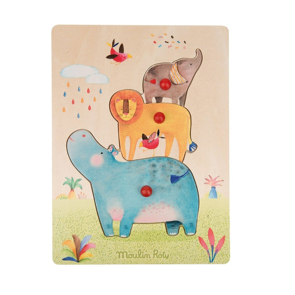 MOULIN ROTY PUZZLE TIERE LES JOUETS - Sausebrause Shop