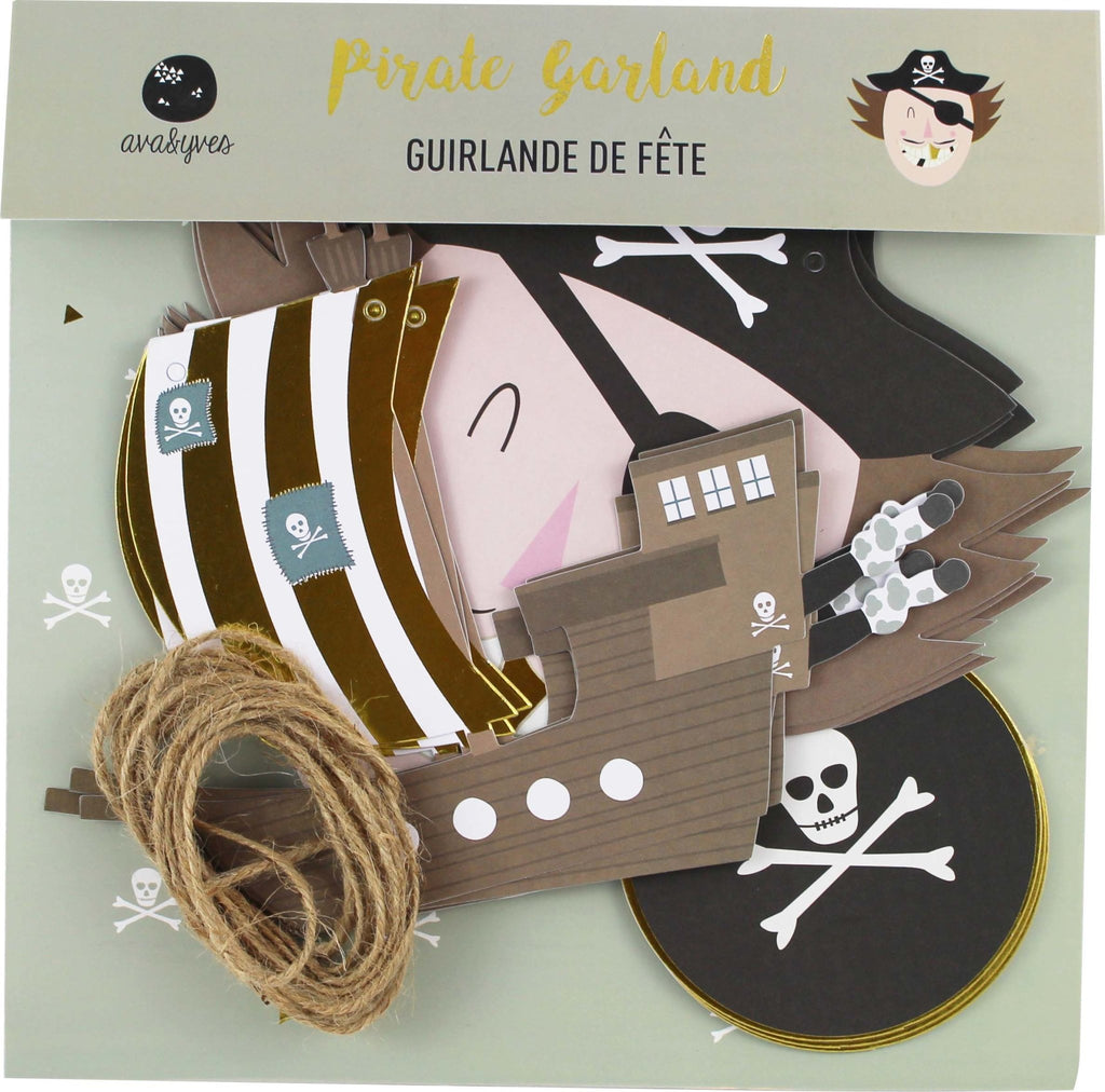 PARTYGIRLANDE PIRAT // SALE - Sausebrause Shop