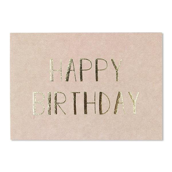 POSTKARTE HAPPY BIRTHDAY - Sausebrause Shop