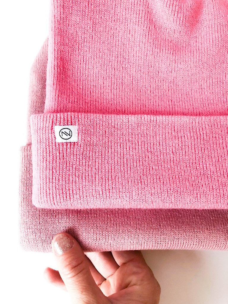 STRICKBEANIE PINK MIEN BERLIN - Sausebrause Shop