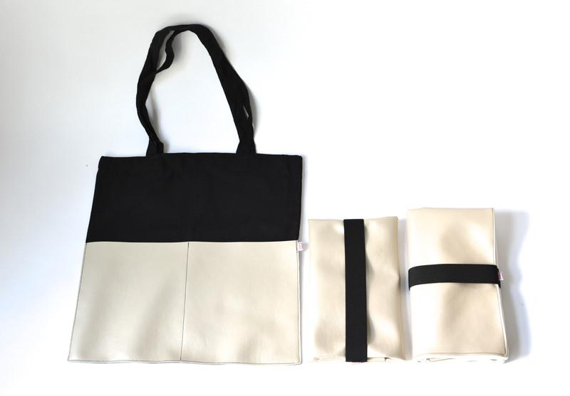 WICKELUNTERLAGE + WICKELTASCHE + SHOPPER - Sausebrause Shop