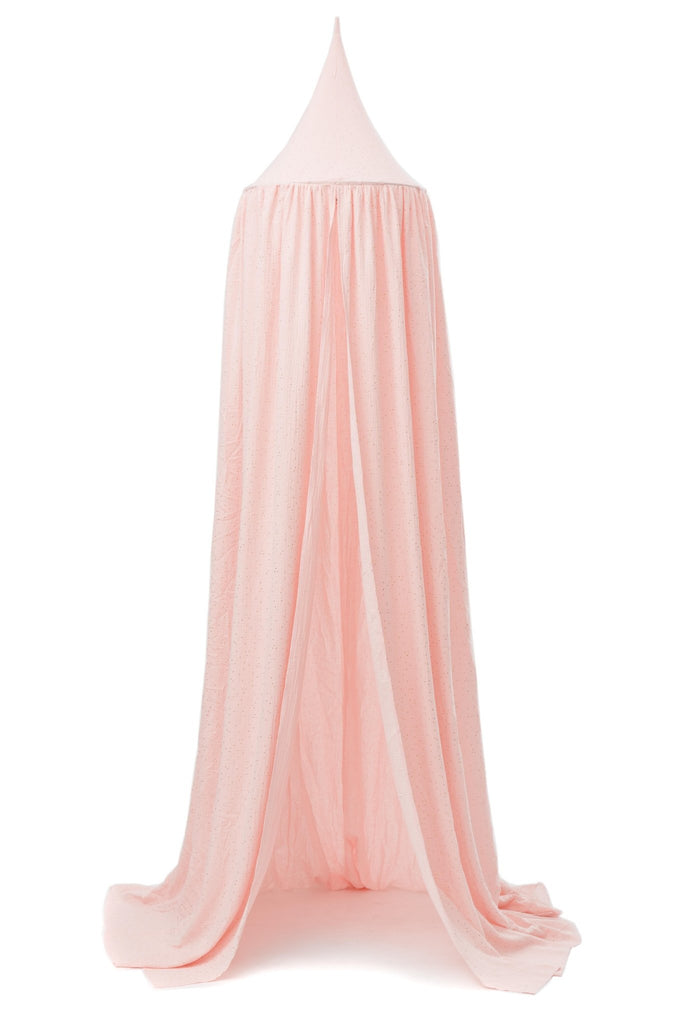 WIGIWAMA BALDACHIN BETTHIMMEL PINK GOLD - Sausebrause Shop