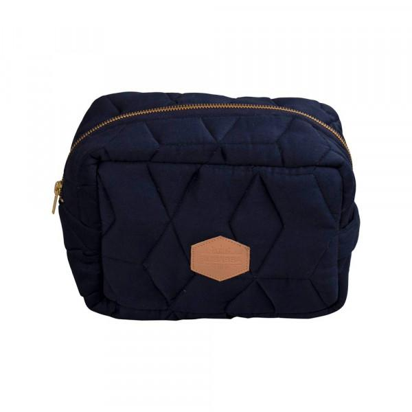 WINDELTASCHE QUILT DARK BLUE - Sausebrause Shop