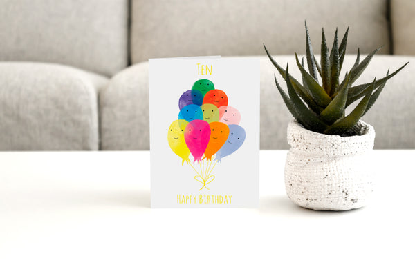 TEN - Greeting Card