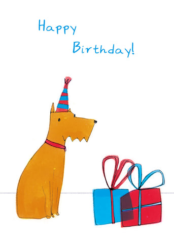 HAPPY BIRTHDAY DOG - Greeting Card