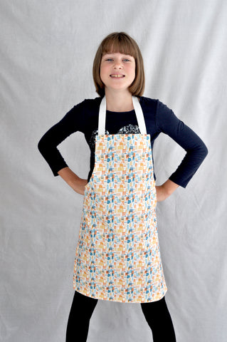 CITY BLOCK - Child's Apron