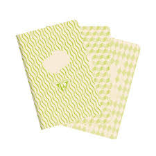CLAIREFONTAINE 1951 BACK TO BASICS RETRO NOVA NOTEBOOK SET OF 3 (90 x 140) - CLAIREFONTAINE