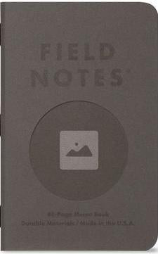 FIELD NOTES PACK OF THREE VIGNETTE MEMO BOOKS FNC-46-FIELD NOTES