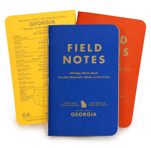FIELD NOTES COUNTY FAIR NEW YORK NOTEBOOK 3 PACK (GRAPH) FNC-07 - Notebooks
