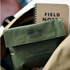 Hightide Japan general purpose case can be folded to pencil case size or extended to double their capacity - khaki
