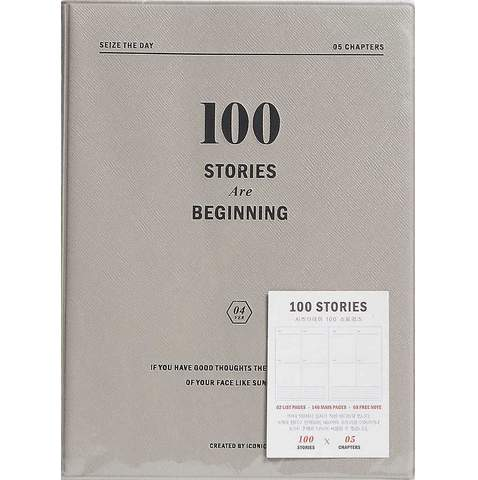 ICONIC SEIZE THE DAY V.4 // 100 STORIES JOURNAL - Journal