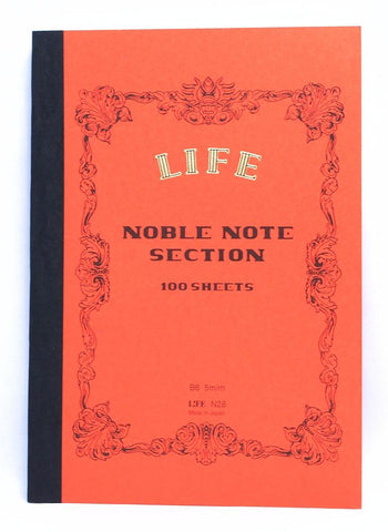 LIFE NOBLE NOTE NOTEBOOK B6 SECTION- Notebooks