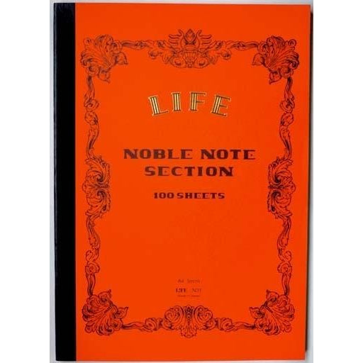 LIFE NOBLE NOTE NOTEBOOK A4 (SECTION OR RULED) - Notebooks