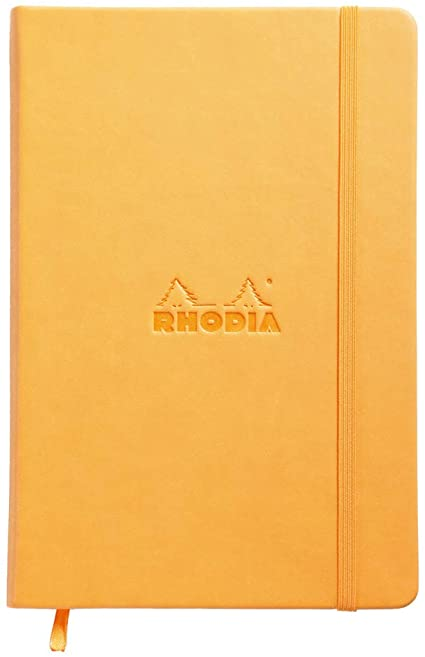 RHODIA A5 PORTRAIT WEB NOTEBOOK LINED- Rhodia Notebooks