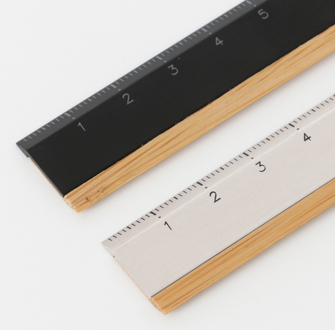 TREASIA ONE BAMBOO RULER 15CM - 15cm Ruler