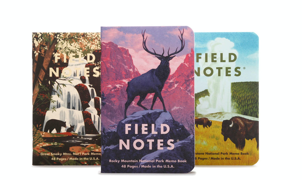 FIELD NOTES NATIONAL PARKS SERIES C MEMO BOOK FNC-43c - FIELD NOTES