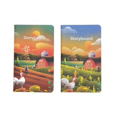 ENDLESS STORYBOARD POCKET NOTEBOOK (PACK OF 2) EDITION 2 : THE FARM
