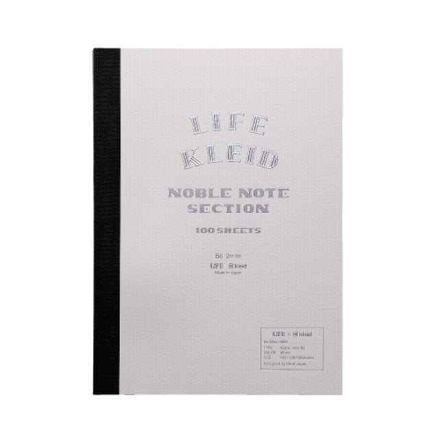 LIFE vs KLEID LIMITED EDITION NOBLE NOTE NOTEBOOK B6 (SECTION)