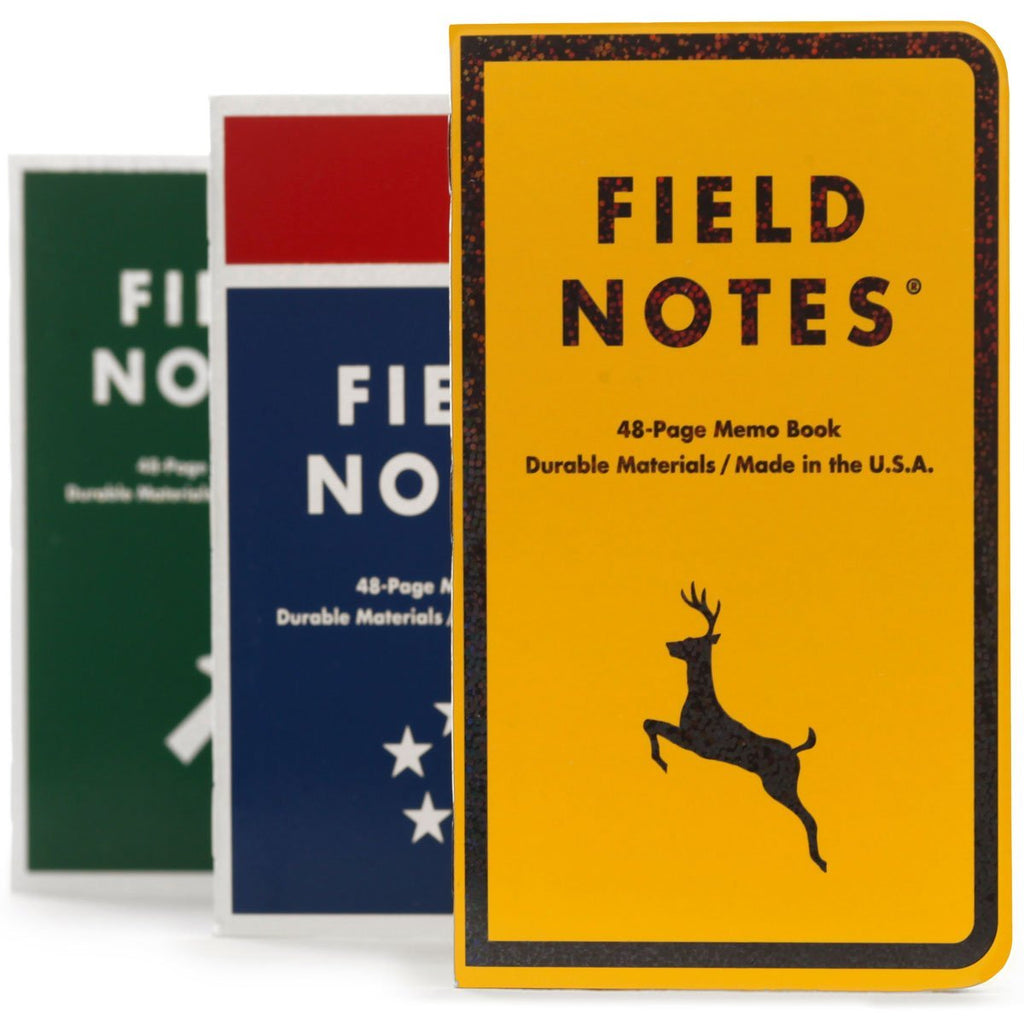 FIELD NOTES SET THREE MILE MARKER MEMO BOOK FNC 42-FIELD NOTES