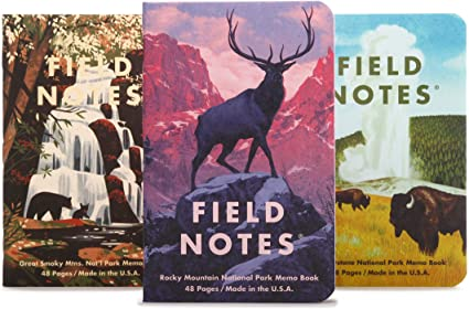 FIELD NOTES NATIONAL PARKS SERIES C MEMO BOOK FNC-43c- FIELD NOTES