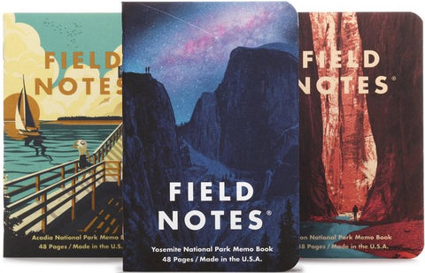 FIELD NOTES NATIONAL PARKS SERIES A MEMO BOOK FNC-43a- FIELD NOTES