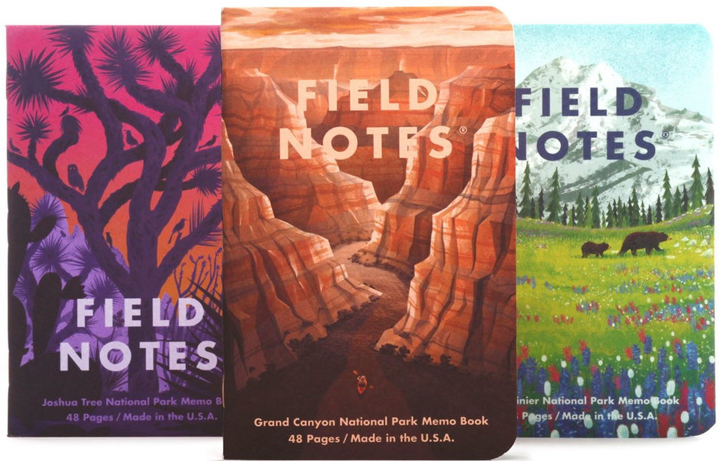 FIELD NOTES NATIONAL PARKS SERIES B MEMO BOOK FNC-43b- FIELD NOTES