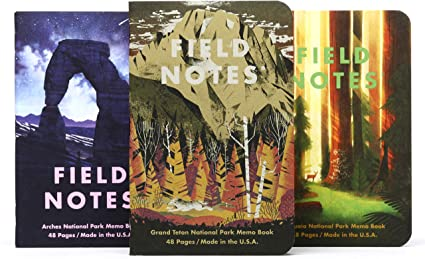 FIELD NOTES NATIONAL PARKS SERIES D MEMO BOOK FNC-43d- FIELD NOTES