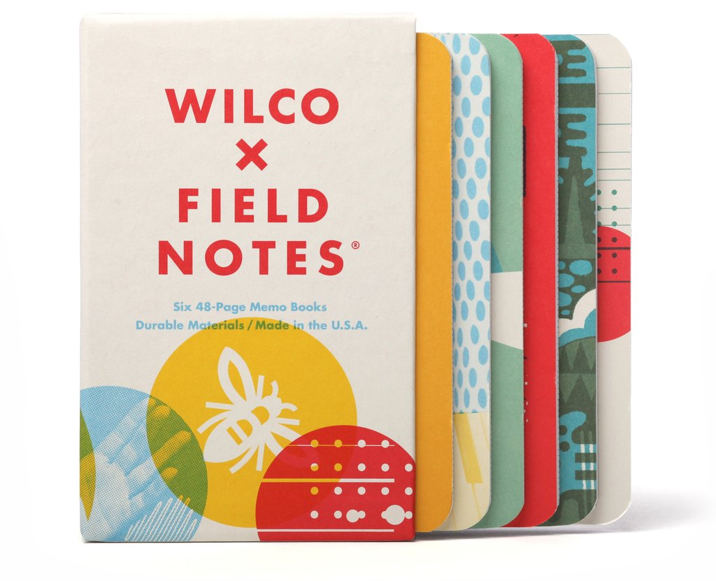 FIELD NOTES BOX OF SIX WILCO MEMO BOOKS FNxW01- FIELD NOTES