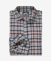 Merino Shirt – Hardvark J-Plaid Voyager Merino Wool Shirt Folded