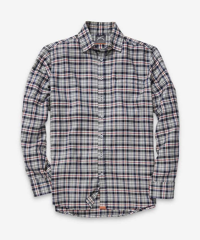 Merino Shirt – Hardvark J-Plaid Merino Wool Shirt Flat
