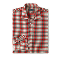 Hampton Check (red/grey)