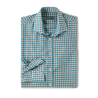 Henley Check (blue/grey)