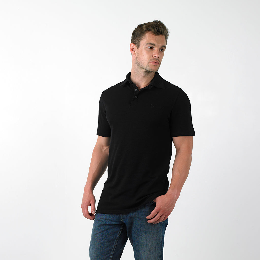 Merino Wool Polo Shirt - The Pique Polo