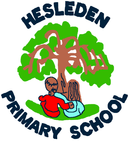 Hesleden Primary School Navy Logo