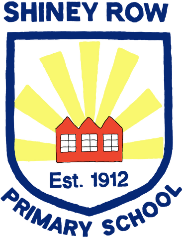 Shiney Row Primary School Blue Logo