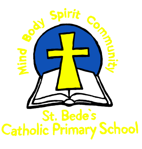 St. Bede's Catholic Primary School - Washington Logo