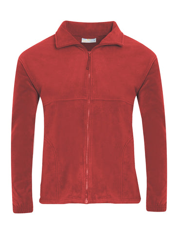 Holley Park Academy Nursery Red Fleece Jacket