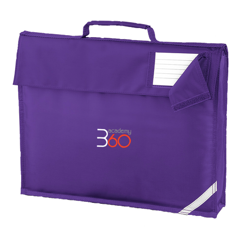 Academy 360 Purple Book Bag