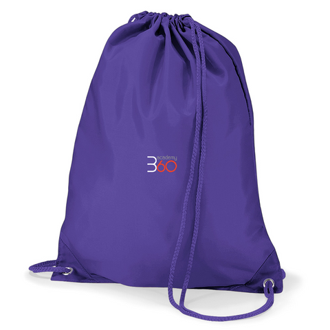 Academy 360 Purple Gym Bag