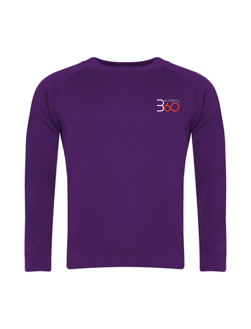 Academy 360 Purple Sweatshirt