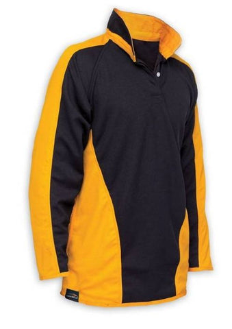 St Aidans Catholic Academy Black & Gold Rugby Top