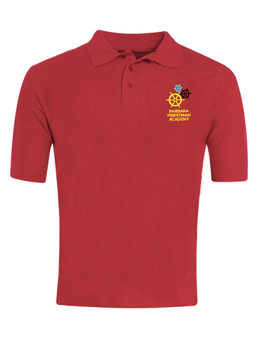 Barbara Priestman Academy Red 6th Form Polo