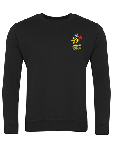 Barbara Priestman Academy Black Crew Neck Sweatshirt