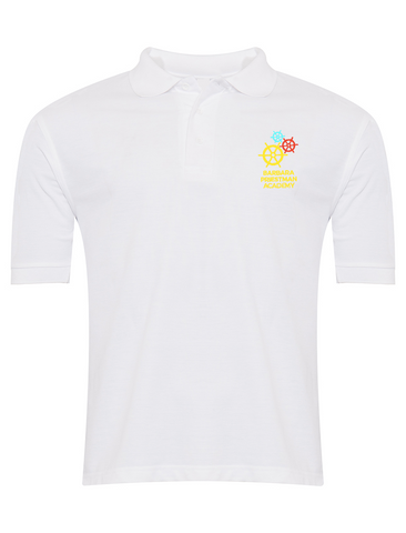 Barbara Priestman Academy White Polo