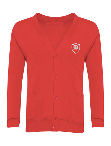 Barnes Infant Academy Red Cardigan